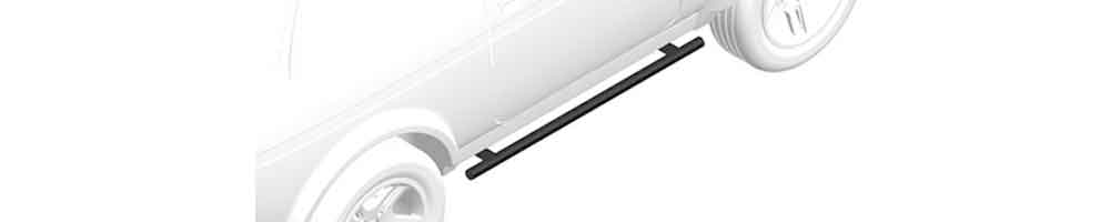 Trittbretter Satz Rohr -  Design nach Verfügbarkeit<br> ab 479,00 EUR