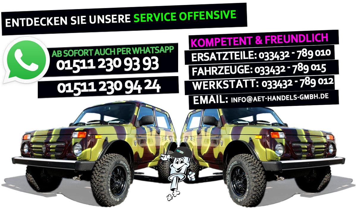 Lada Service Offensive